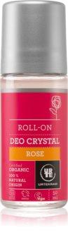 Urtekram Rose deodorante roll-on con estratto di rosa canina