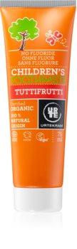 Urtekram Children's Toothpaste Tutti-Frutti fogkrém gyermekeknek