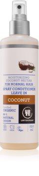 Urtekram Coconut leöblítést nem igénylő regeneráló kondicionáló a hidratálásért és a fényért