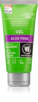 Urtekram Aloe Vera гел за интензивна хидратация и освежаване на кожата на лицето с алое вера