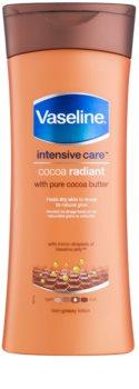Vaseline Cocoa leite corporal hidratante com manteiga de cacau
