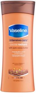 Vaseline Cocoa Radiant увлажняющее молочко для тела с маслом какао