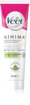 Veet Silk & Fresh crema depilatoria per pelli secche