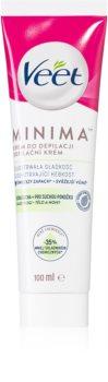 Veet Silk & Fresh depilační krém pro suchou pokožku