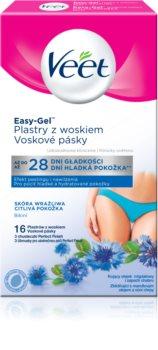 Veet Easy-Gel traka s voskom za depilaciju bikini zone za osjetljivu kožu