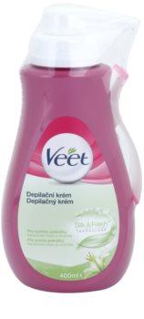 Veet Depilatory Cream crema depilatoria idratante per pelli secche