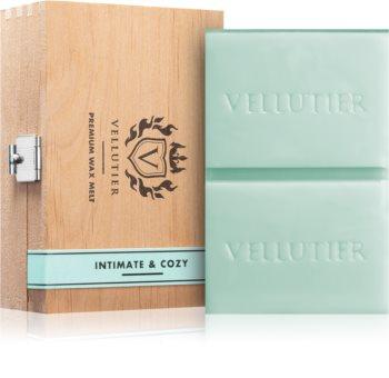 Vellutier Intimate & Cozy duftwachs für aromalampe