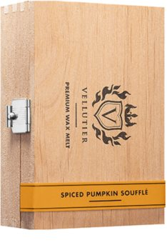 Vellutier Spiced Pumpkin Soufflé tartelette en cire
