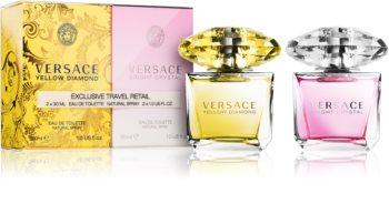 Versace Yellow Diamond & Bright Crystal zestaw upominkowy I. dla kobiet