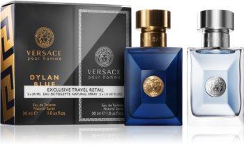 Versace Dylan Blue & Pour Homme set cadou II. pentru bărbați