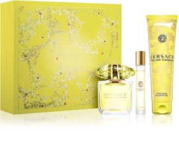 Versace Yellow Diamond coffret XIV. para mulheres