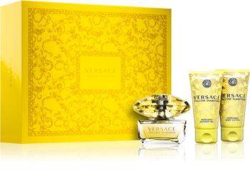 Versace Yellow Diamond set cadou III. pentru femei