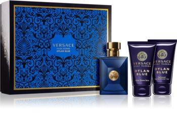Versace Dylan Blue Pour Homme подаръчен комплект III. за мъже