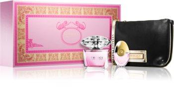 Versace Bright Crystal set cadou III. pentru femei