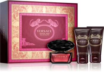 Versace Crystal Noir Gift Set IV. for Women