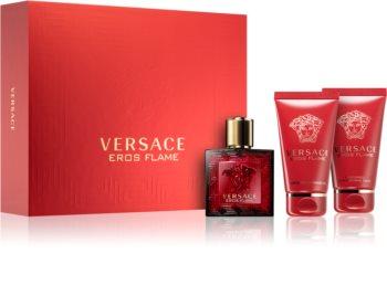 Versace Eros Flame darčeková sada I. pre mužov