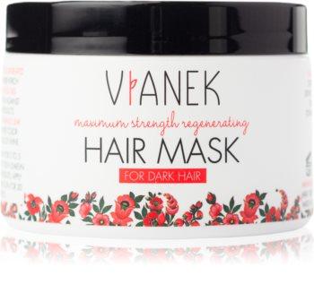 Vianek Maximum Strenght Regenerating hloubkově regenerační maska pro tmavé vlasy