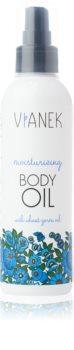 Vianek Moisturising regeneráló olaj testre hidratáló hatással