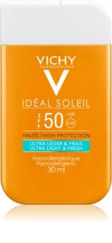 Vichy Idéal Soleil ultra lehký opalovací krém na obličej a tělo SPF 50