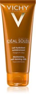 Vichy Idéal Soleil Capital hidratantno mlijeko za samotamnjenje za lice i tijelo