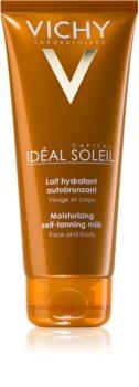 Vichy Idéal Soleil Capital nawilżające mleczko samoopalające do twarzy i ciała