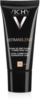 Vichy Dermablend korektivni tekoči puder z UV faktorjem