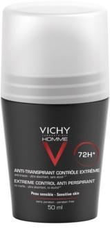 Vichy Homme Deodorant Antitranspirant Roll-On tegen Overmatig Transpireren