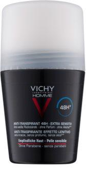 Vichy Homme Deodorant antitraspirante roll-on senza profumazione