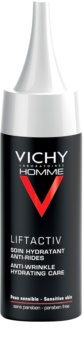 Vichy Homme Liftactiv cuidado hidratante para eliminar arrugas y signos de cansancio