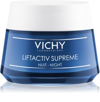 Vichy Liftactiv Supreme cremă de noapte pentru fermitate și anti-ridr cu efect lifting
