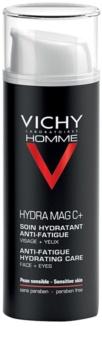 Vichy Homme Hydra-Mag C soin hydratant anti-fatigue visage et contour des yeux