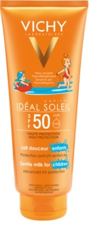 Vichy Idéal Soleil Capital leche protectora para niños para rostro y cuerpo SPF 50