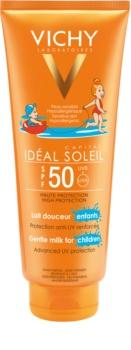 Vichy Idéal Soleil Capital ochranné mléko pro děti na obličej a tělo SPF 50