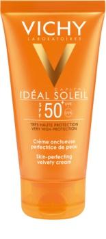 Vichy Idéal Soleil Capital ochranný krém pre zametovo jemnú pleť SPF 50+
