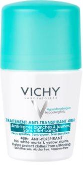 Vichy Deodorant antitraspirante roll-on contro le macchie bianche e gialle