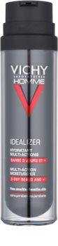 Vichy Homme Idealizer crema hidratante para cara y barba