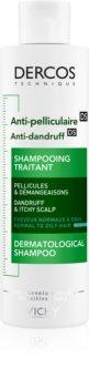 Vichy Dercos Anti-Dandruff szampon przeciwłupieżowy do włosów normalnych i przetłuszczających się