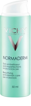 Vichy Normaderm fluide embellisseur hydratant pour peaux adultes à imperfections 24h