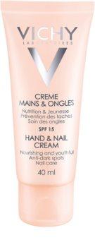 Vichy Hand & Nail hranjiva krema za ruke i nokte protiv tamnih mrlja