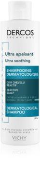 Vichy Dercos Ultra Soothing szampon łagodzący do włosów normalnych i przetłuszczających się