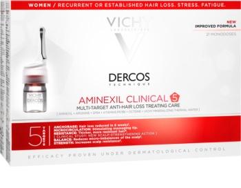 Vichy Dercos Aminexil Clinical 5 trattamento mirato anticaduta dei capelli da donna