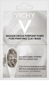 Vichy Mineral Masks masque argile purifiant pores petit format