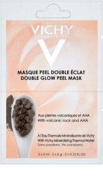 Vichy Mineral Masks mascarilla exfoliante iluminadora para rostro pack pequeño