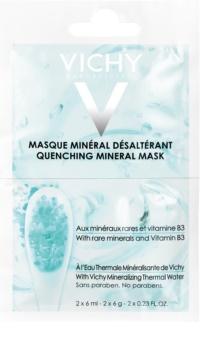 Vichy Mineral Masks Återfuktande ansiktsmask  liten packning
