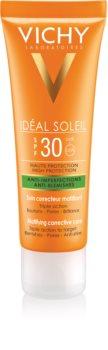 Vichy Idéal Soleil Capital mattierende Sonnencreme für das Gesicht für fettige und Mischhaut