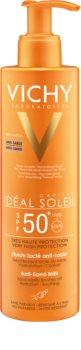 Vichy Idéal Soleil Capital latte solare anti-sabbia SPF 50+