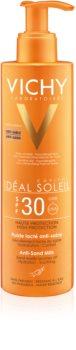 Vichy Idéal Soleil Capital loțiune solară cu tehnologia anti-nisip SPF 30