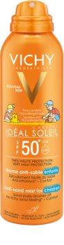Vichy Idéal Soleil Capital gyengéd védő homoktaszító spray gyerekeknek SPF 50+