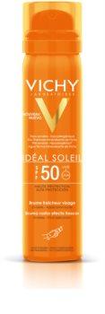 Vichy Idéal Soleil verfrissende bruiningsspray voor het gezicht SPF 50