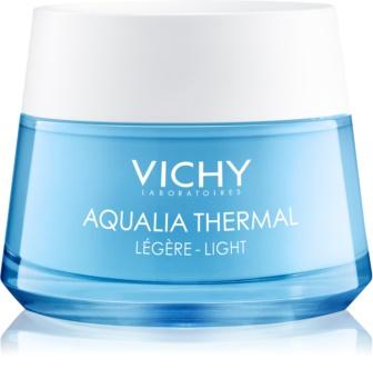 Vichy Aqualia Thermal Light crema idratante leggera per pelli sensibili normali e miste